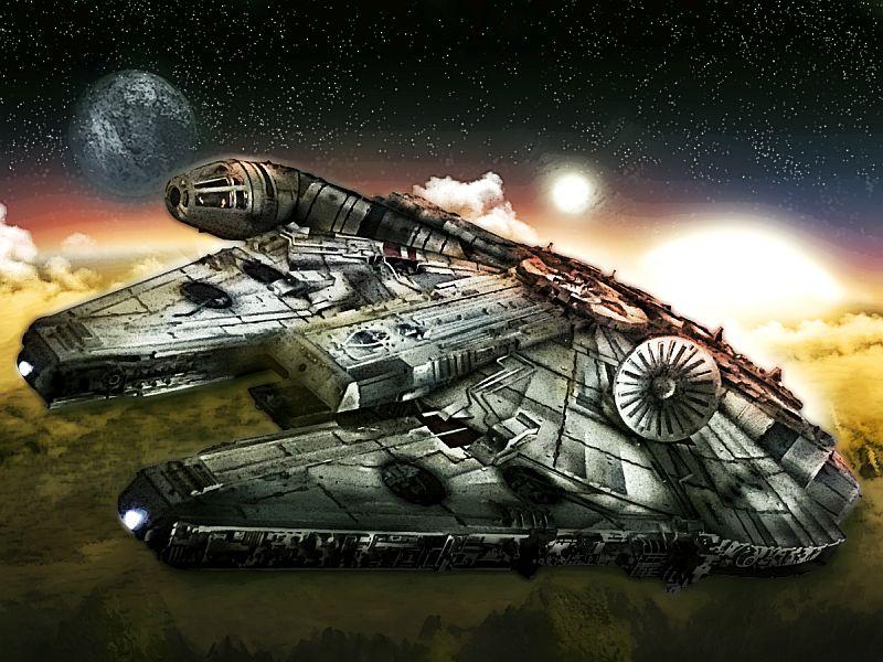 Fanart Star Wars Millenium Falocn