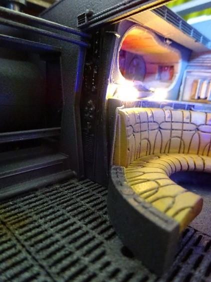 Star Wars Millenium Falcon Deagostini Bench