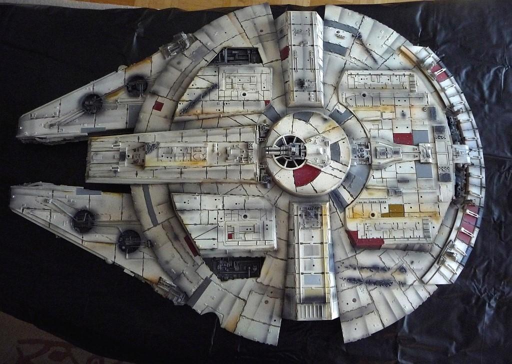 Star Wars Millenium Falcon Unterseite