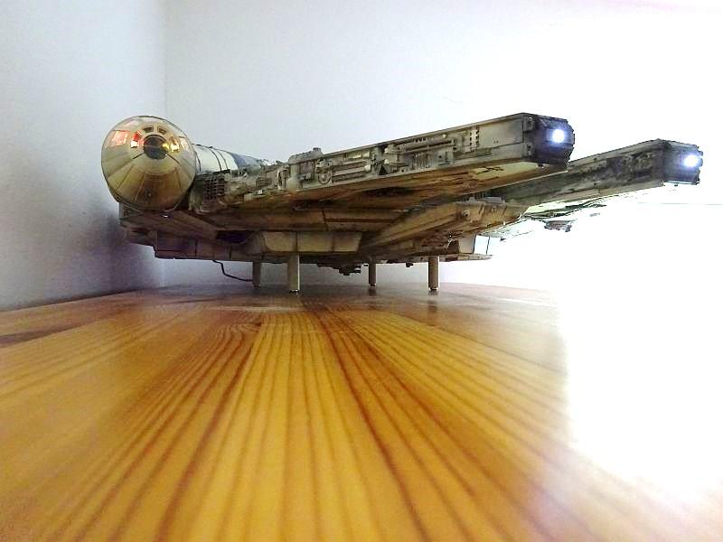 Star Wars Millenium Falcon Bausatz DeAgostini